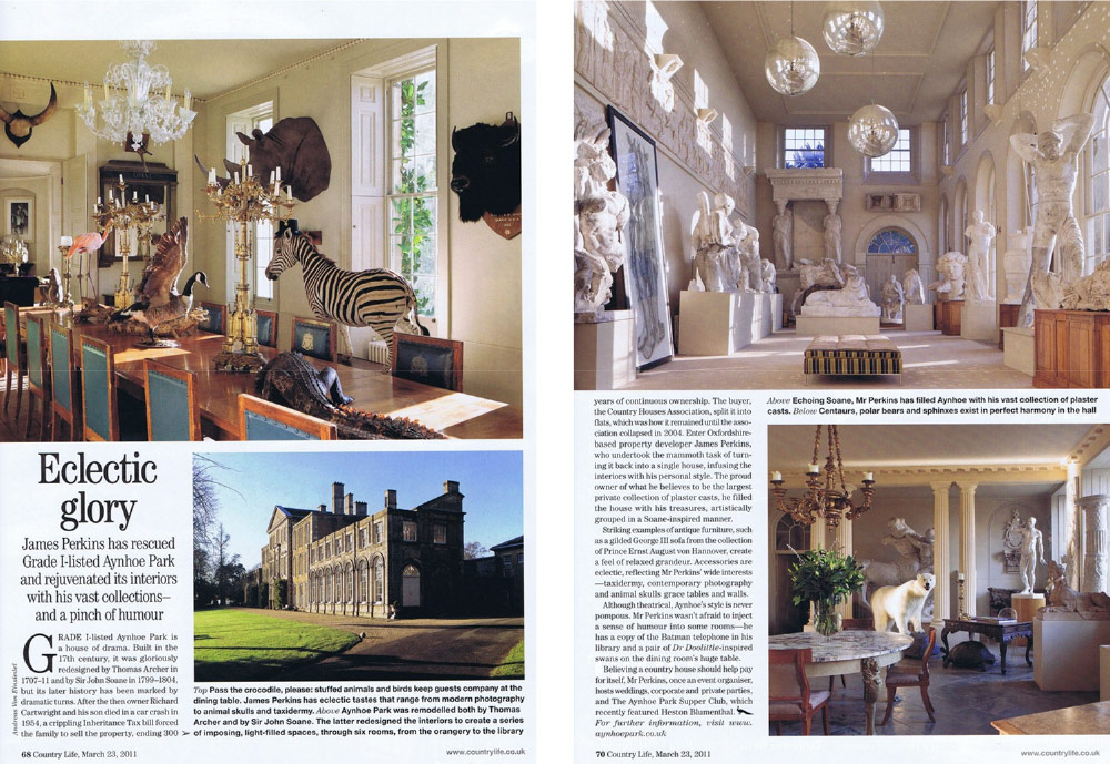 Aynhoe Park in Country Life