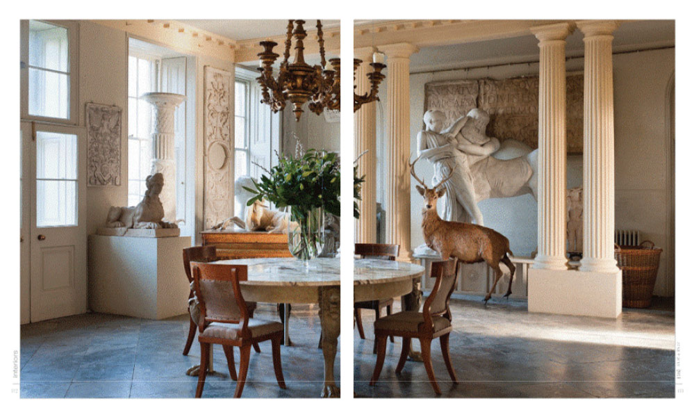Aynhoe Park in Interiors Magazine