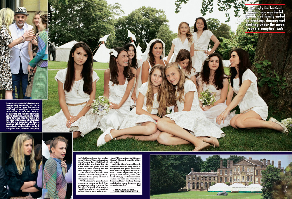 Aynhoe Park in Hello Magazine