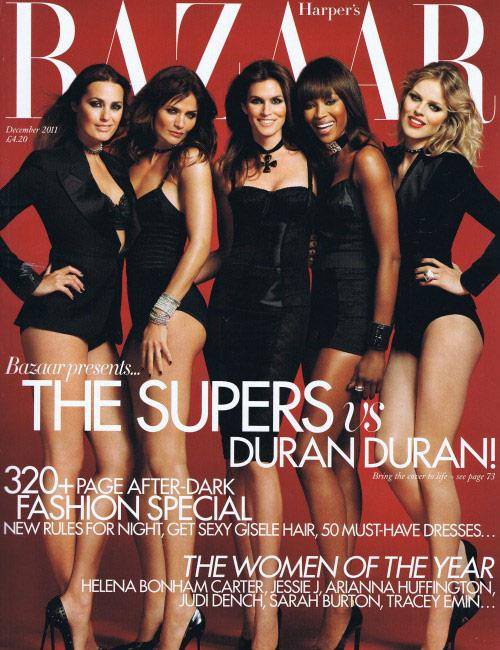 Harper's Bazaar, December 2011